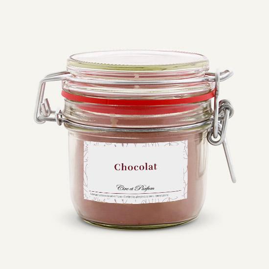 bougie parfumée Cire et Parfum chocolat