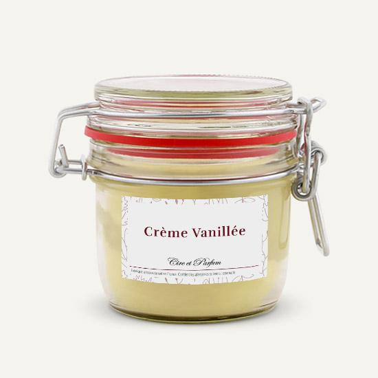 bougie parfumée Cire et Parfum crème vanillée