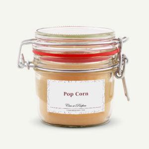 bougie parfumée Cire et Parfum pop corn