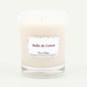 bougie parfumée Cire et Parfum bulle de coton