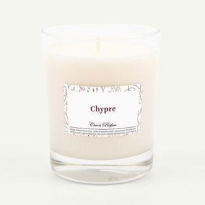 bougie parfumée Cire et Parfum chypre