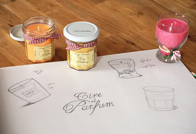 Fabrication artisanale Cire et Parfum