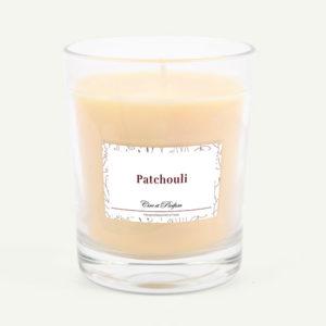 bougie parfumée Cire et Parfum patchouli
