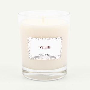 bougie parfumée Cire et Parfum vanille