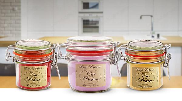 Bougie gourmandine Cire et Parfum