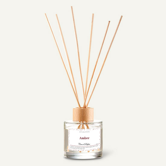 diffuseur rotin Cire et Parfum